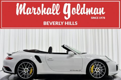Pre-Owned 2018 Porsche 911 Turbo S Cabriolet